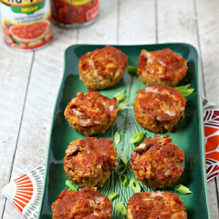 Southwestern Turkey Meatloaf Muffins