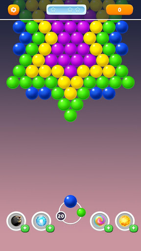 Bubble Rainbow Shooter - Shoot & Pop Puzzle apktreat screenshots 1