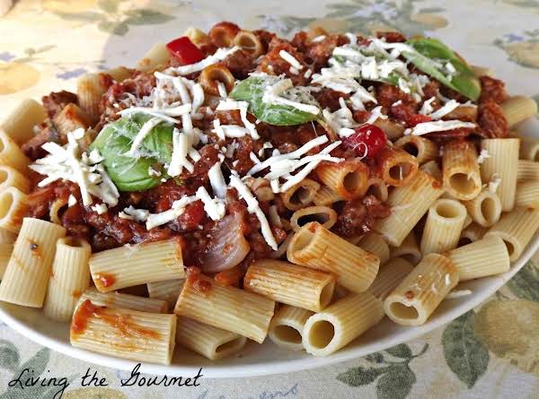 Easy Meat Sauce Recipe