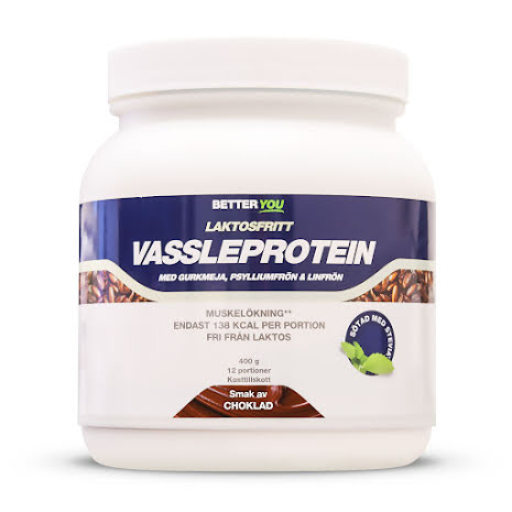 Vassleprotein Laktosfritt 400g - Choklad