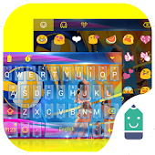 Beach Volleyball Emoji Theme Android APK Download Free By Best Keyboard Theme Design