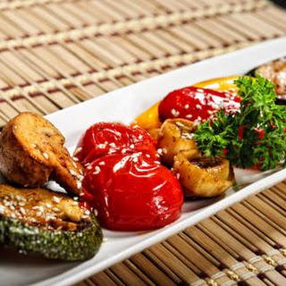 Sesame Roasted Vegetables