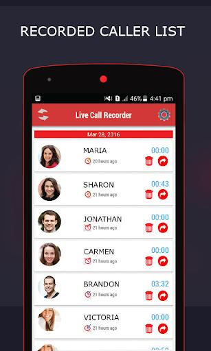 Live Call Recorder 1.30 screenshots 1