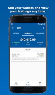 Coin Nexus - Bitcoin & Altcoin Portfolio & Wallet - náhled
