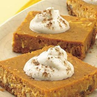 The Amish Cook's Pumpkin Pie Squares….
