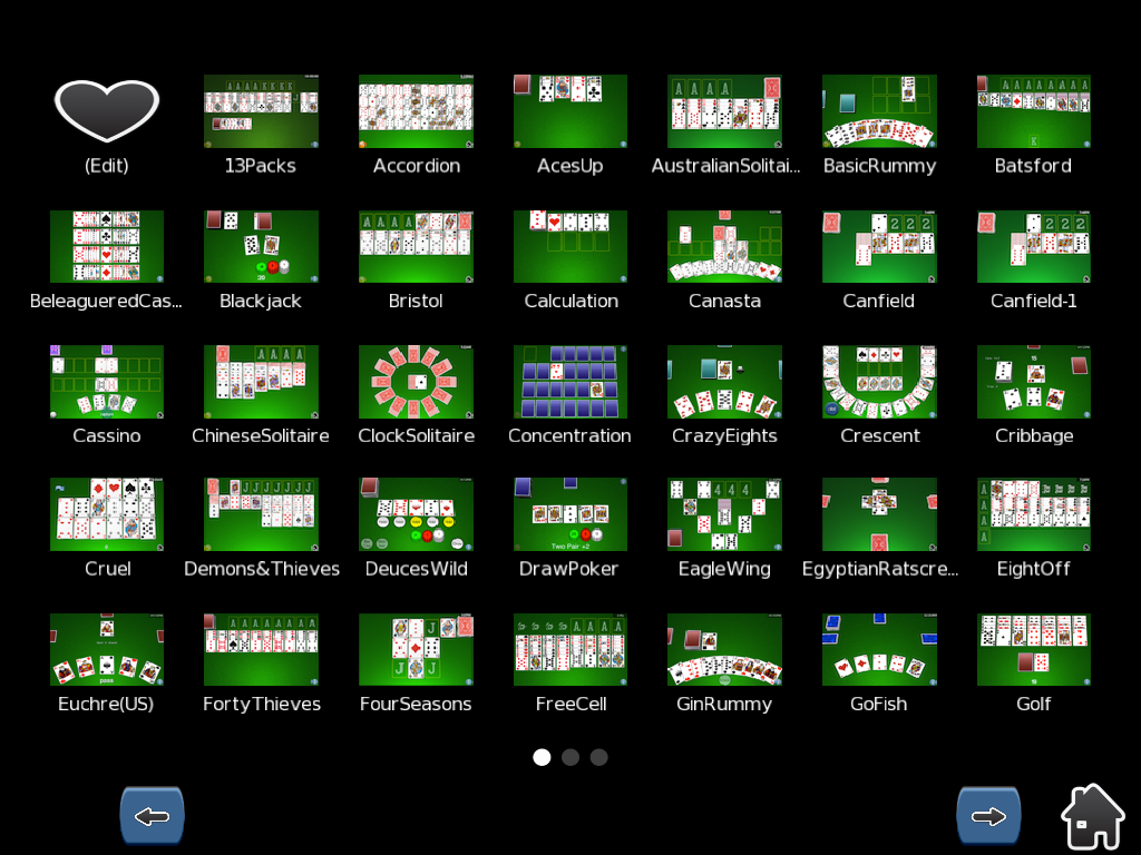CardShark - Solitaire & more- screenshot