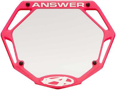 Answer BMX 3D Pro Number Plate alternate image 3