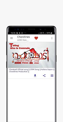 Chordlines screenshot 1