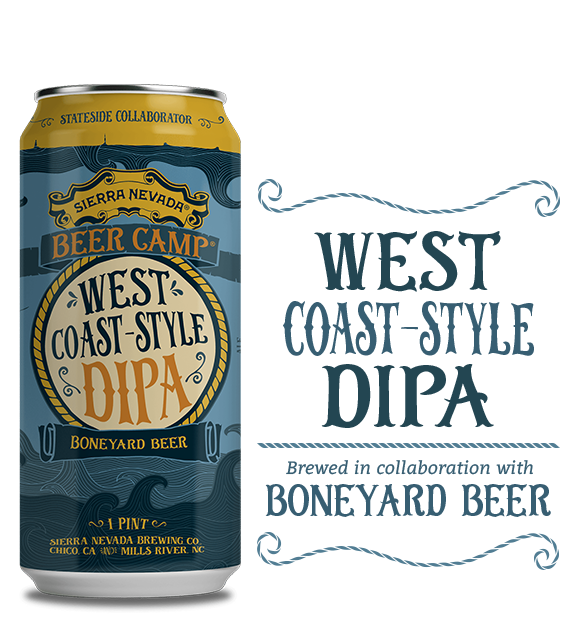 Logo of Sierra Nevada Beer Camp 2017: West Coast Double IPA (Boneyard Collab)