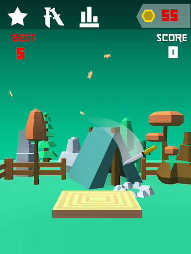Knife 3D Game Challenge 1.1 screenshots 5