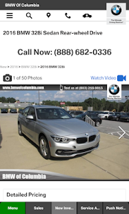 BMW of Columbia- screenshot thumbnail