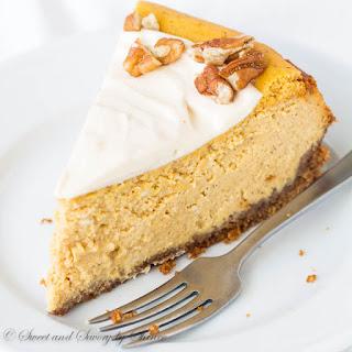 Maple Pumpkin Cheesecake.