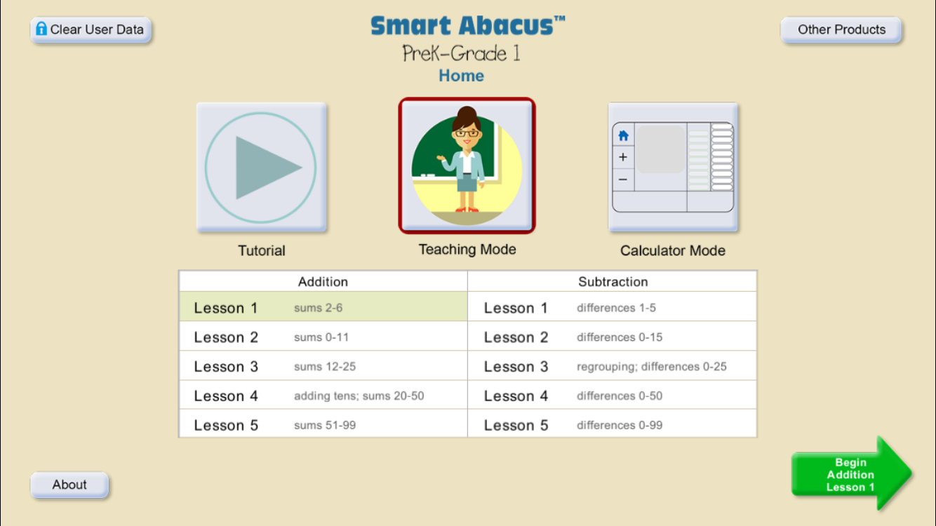 Smart Abacus™ PreK-1- screenshot