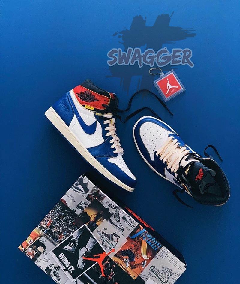 Nét đẹp của Giày Nike Jordan 1 Cổ Cao và những chiếc Giày Balenciga Trắng