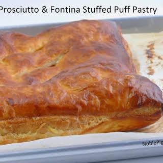 Prosciutto & Fontina Stuffed Puff Pastry.