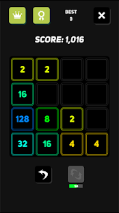 2048 Neon- screenshot thumbnail