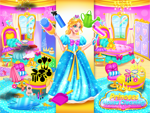 Princess Castle House Cleanup - Cleaning for Girls 1.2 de.gamequotes.net 3