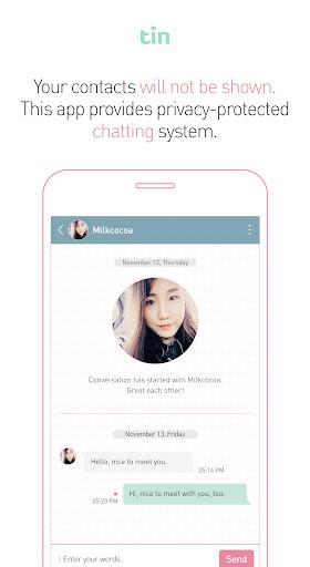 Tin - Chat, Free Dating App screenshot