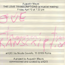 The Love Transcriptions (a musical reading)