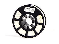 Kodak White Flex 98 - 3.00mm Flexible TPU Filament (0.75kg)