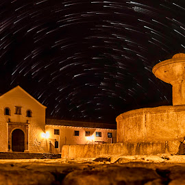 The Magical Village  by Andrius La Rotta Esquivel - Digital Art Places ( amazing, village, magical, stars, digital art, artistic, places, photography )