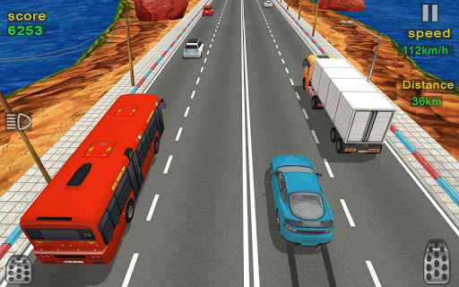 Highway Car Racing 2020: Traffic Fast Racer 3d apkpoly screenshots 3