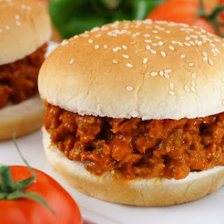 Pork Barbecue Sloppy Joe Sandwiches.