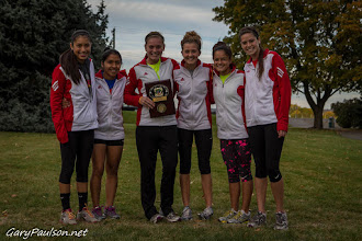 Photo: Kamiakin Girls - 3A  District Champs Mid-Columbia Conference Cross Country District Championship Meet  Buy Photo: http://photos.garypaulson.net/p554312676/e48049fae
