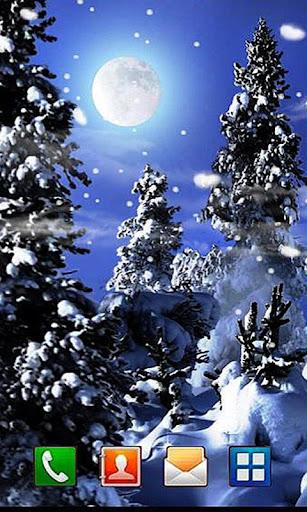 Winters Frost 3D LWP