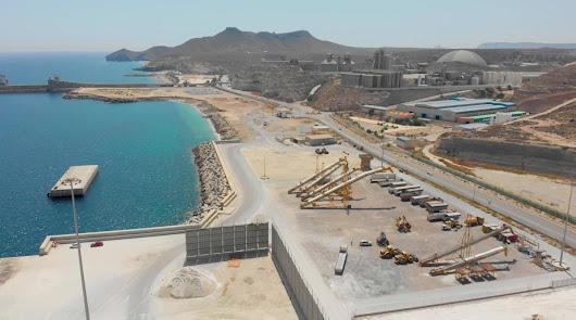 El nuevo sistema de drenaje del puerto evitará el vertido de aguas al mar