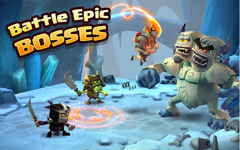 Dungeon Boss Mod Apk [Invincible] v0.5.11741 Android - APKBLACK.US