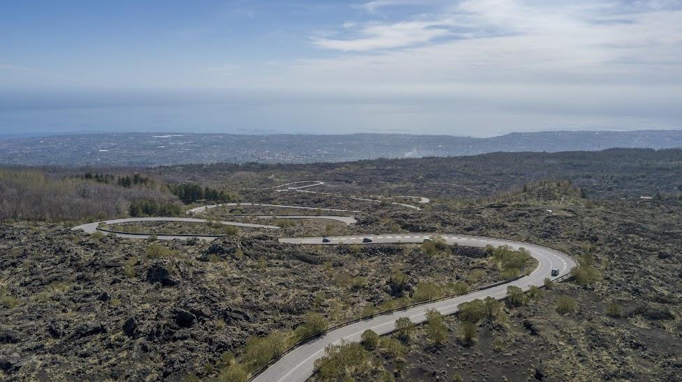 Etna, droga na wulkan