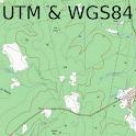 Field Topography UTM icon