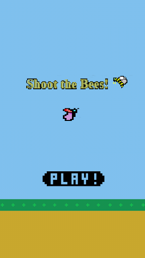 Flappy butterfly shooter