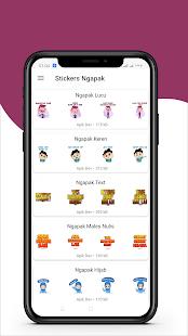 Download Ngapak Stiker Lucu WAStickerApps For PC Windows and Mac apk screenshot 2