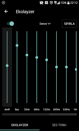 Mp3 player - Qamp screenshot 4