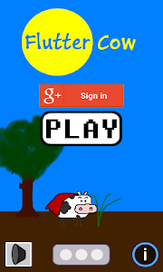 Flappy Cow Game screenshot 0