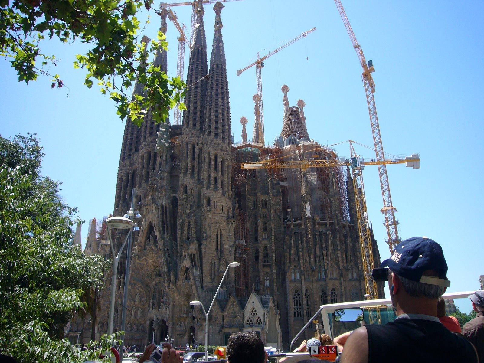 Photo: Sagrada Familia, door ons omgedoopt tot Het Sekreet