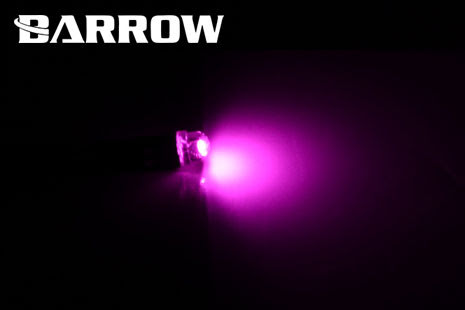 Barrow LED, 5mm, UV