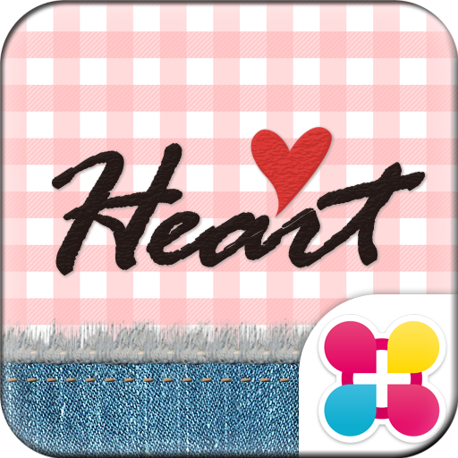 Cute Theme-Gingham Heart- Icon