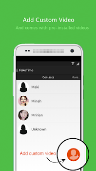 Fake video call - FakeTime 2.3