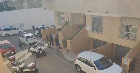 Detenidas varias personas tras irrumpir forzosamente en una residencia privada