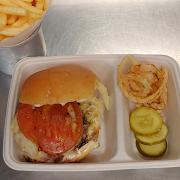 Horseradish Cheddar Burger