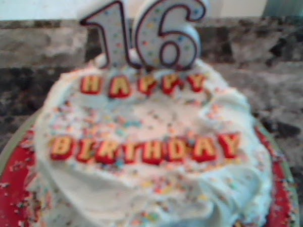 Sweet 16 Confetti Birthday Cake Recipe