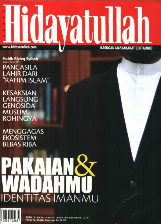 Hidayatullah Edisi April 2017