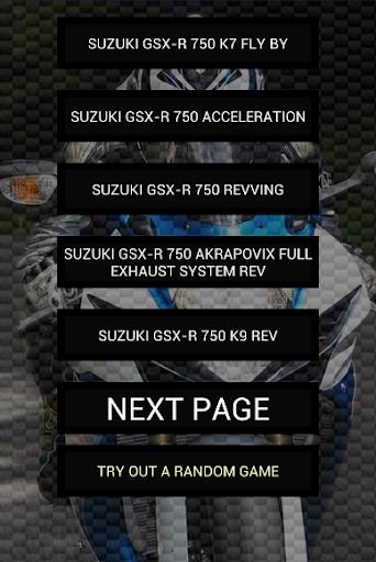 玩免費遊戲APP|下載Engine sounds of GSX-R 750 app不用錢|硬是要APP