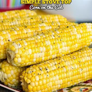 Simple Stove Top Corn on the Cob.