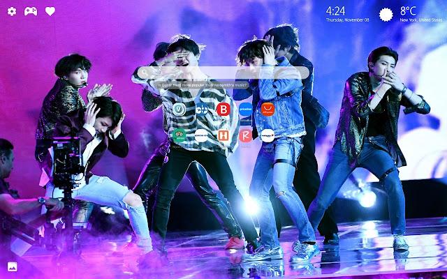 BTS HD Wallpapers New Tab