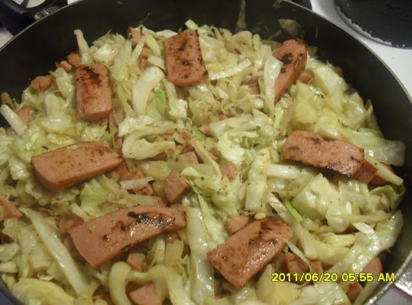 Fried Cabbage & Sausage Recipe