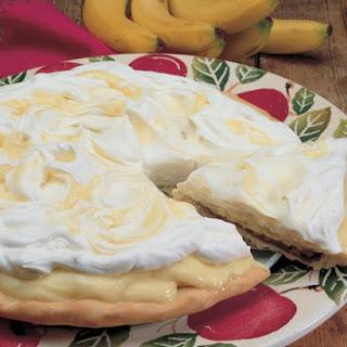 Banana Cream Pizza
